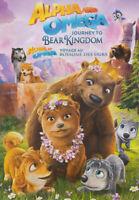 Alpha And Omega - Journey To Bear Kingdom (Bil New DVD