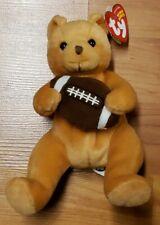ty Beanie Babies 'Blitz' Football Bear with Ear Tag 2005