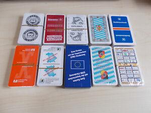 10 Pack  Schafkopfkarten
