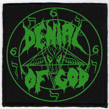 DENIAL OF GOD PATCH / SPEED-THRASH-BLACK-DEATH METAL