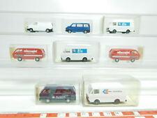 bk14-0,5 # 8 x WIKING H0/1:87 MODELLO VW : 890+295+292+301 GHIACCIO + 300/1 +