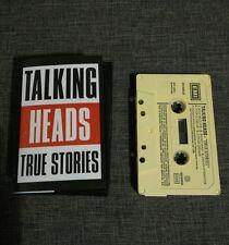 CASSETTE TALKING HEADS TRUE STORIES - 9 SONGS - DAVID BYRNE - 1986 - RARE