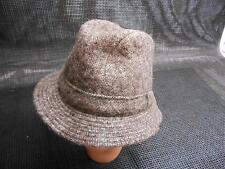 6c17ef88c03 Old Vtg J.J. Seifter   Sons MEN S JACOB WOOL TWEED HAT Gray Size Small Pure  Wool