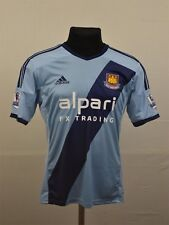 WEST HAM UNITED 2014/2015 AWAY FOOTBALL SHIRT JERSEY ADIDAS HAMMERS S Small