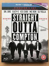 STRAIGHT OUTTA COMPTON ~ 2015 NWA HIP HOP RAP Biografía GB BLU-RAY CON FUNDA