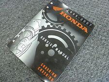 2001 2002 2003 Honda CR80R CR80RB CR85R CR85RB Motorcycle Service Repair Manual