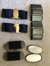 New listing Vintage Lot of 4 sets of Shoe Clips - Musi