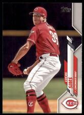 2020 Topps Series 2 Base #496 Lucas Sims  - Cincinnati Reds