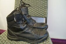VINTAGE BELTAFF LEATHER CORDURA TE-POR WATERPROOF LACES ANKLE BOOTS SIZE 8
