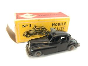MOBILE POLICE CAR WOLSELEY SIX-EIGHTY No 5 by Budgie boxed 1960's