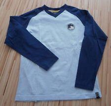 MEXX Langarm Tshirt Gr.M 146-152 blau hellblau Marke