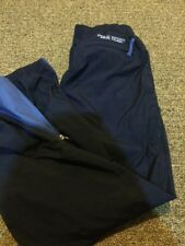 MENS MEDIUM POLO SPORT RALPH LAUREN TRACK WINDBREAKER PANTS ZIP LEGS NAVY