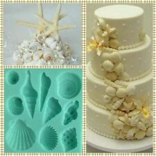 SILICONE SEA SHELL MOULD.. PERFECT FOR ICE-CHOCOLATE-FONDANT- JELLY... ECT
