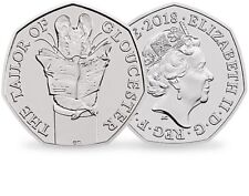 """New 50p """"The Tailor Of Gloucester"""""""