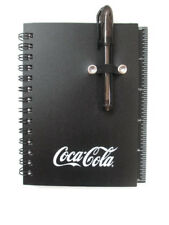 Coca-Cola Black Coca-Cola Mini Notebook Pad with Sticky Notes and Tabs