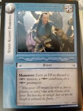 Lord of the Rings TCG Fellowship 1U63 Stand Against Darkness CCG LOTR