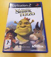 Shrek Terzo GIOCO PS2 VERSIONE ITALIANA