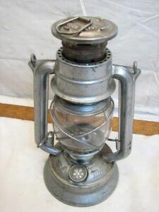 Vintage Czech Meva no. 864 Oil Kerosene Fluid Lantern Lamp Light Railroad Train