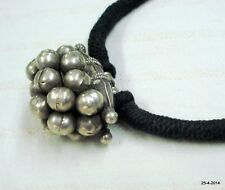 choker pendant tribal traditional jewelry vintage antique old silver necklace