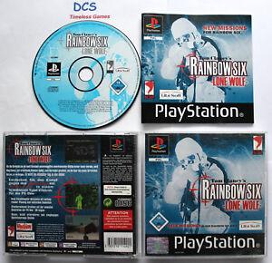 Tom Clancy's Rainbow Six Lone Wolf     Sony PlayStation 1 u. 2 , 2002