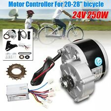 Electric Bike Conversion Kit Motor Controller Bracket Chain 20-28 Inch E-Bike