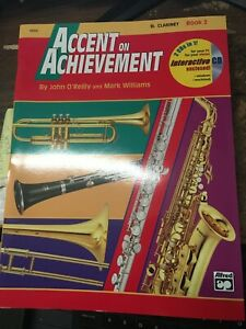 Accents on Achievement Book 2 for Clarinet
