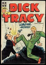 Dick Tracy (1950) #69 1st Print Harvey Violent Bloody Cover Case T.V. Terror VF