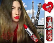 Lex Gable Cosmetix BRIGHT RED Lipstick :: Shade: 'GUITAR'