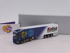 "Herpa 122047-1//87 Scania CS 20 HD Kühlkoffer-Sattelzug /""Heide Logistik BB/"""