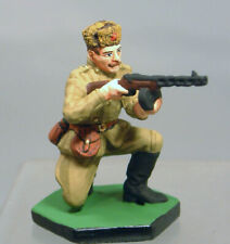 Painted Tin Toy Soldier Red Army Footman #1 54mm 1/32