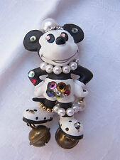 Vintage Design Strass Brosche Brooch Walt Disney Mickey Mouse Bully Nr.162
