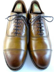 "NEW Allen Edmonds ""PARK AVENUE"" Cap-Toe Oxfords 10.5 D  Walnut  (557)"