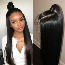 Straight Human Hair 13x4 Lace Front Wigs with Baby Hair 150% Density for woman