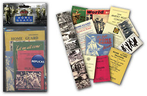 Home Guard Memorabilia Gift Pack with over 20 pieces of Replica Artwork
