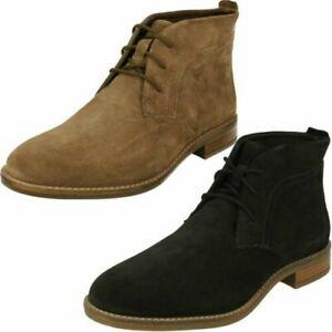 Ladies Clarks Lace Up Ankle Boots 'Camzin Grace'