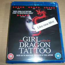 The Girl with the Dragon Tattoo (MINT(UK Blu Ray)