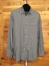 "RALPH LAUREN ""Purple Label"" Mens Check Dress - Business Casual Shirt L 16 34/35"