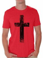 Cross T Shirt Cross T-shirt Christianity Gifts Religion Gifts for Men