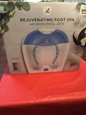 New Rejuvenating Foot Spa With Whirlpool Jets