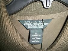 Brooks Brothers Country Club Polo Shirt Size XL Green Performance Knit