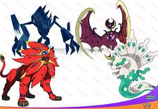 SHINY 6IV Gen 7 LEGENDS Solgaleo Lunala Necrozma Zygarde Pokemon ULTRA SUN MOON