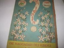 Passover Hagadah – Pop-Up & Movable Images – Berlin 1933 Die Haggadah Des Kindes