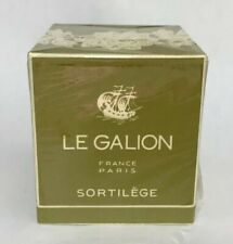 NEW Le Galion Sortilege  1.0 OZ Made in France, Vintage Perfume Sealed!