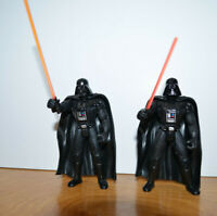 STAR WARS POTF2 DARTH VADER Action Figure Lot Long & Short Saber 1995 Kenner