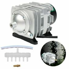 Electromagnetic Air Compressor Aerator Pump Aquarium Fish Tank Pond Splitter