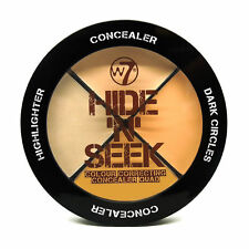 W7 Hide 'n' Seek Colour Correction Cream Concealer Highlighter Quad Sealed