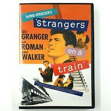 Alfred Hitchcock's Strangers On A Train (Dvd, 2010) Farley Granger 1951 Film