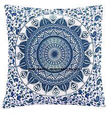 Bohemian Ombre Mandala Geometric Style Throw Pillow Case Sofa Cushion Cover Case