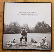 """George Harrison """"All Things Must Pass"""" 3-LP  Box Set 1970 Apple STCH-639 NM-"""
