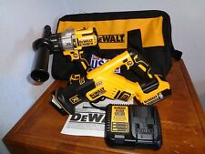 "DEWALT DCK294P2 20V MAX XR Brushless 1/2"" Hammer Drill & Reciprocating saw kit"